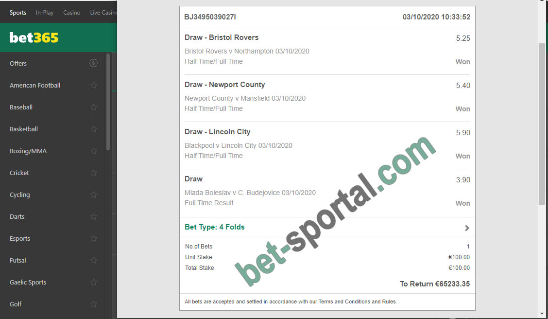 bet sportal vip ticket 100%