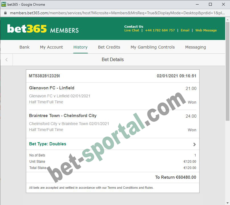 bet sportal double fixed matches