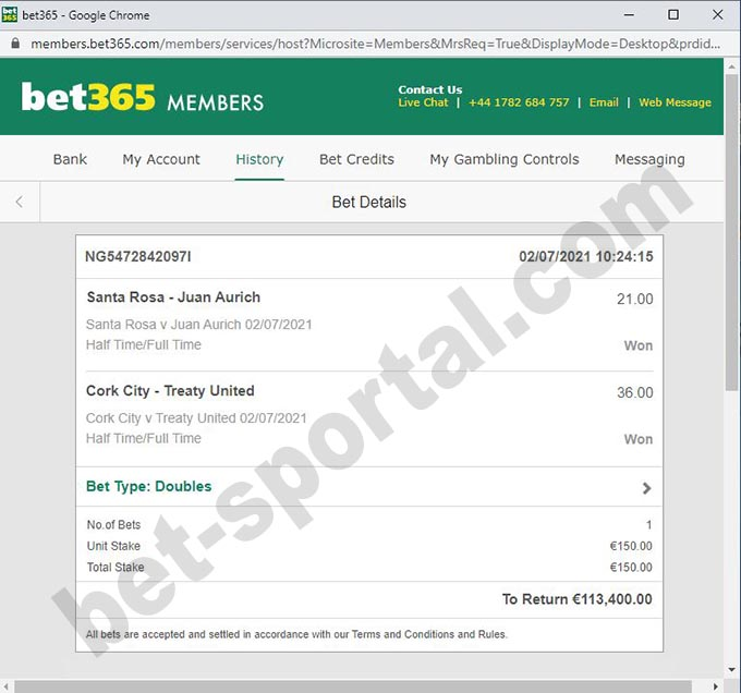bet fixed matches 100%